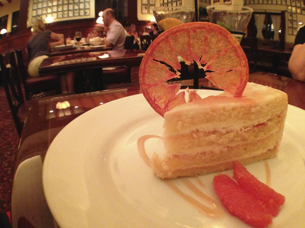 The Famous Grapefruit Cake.