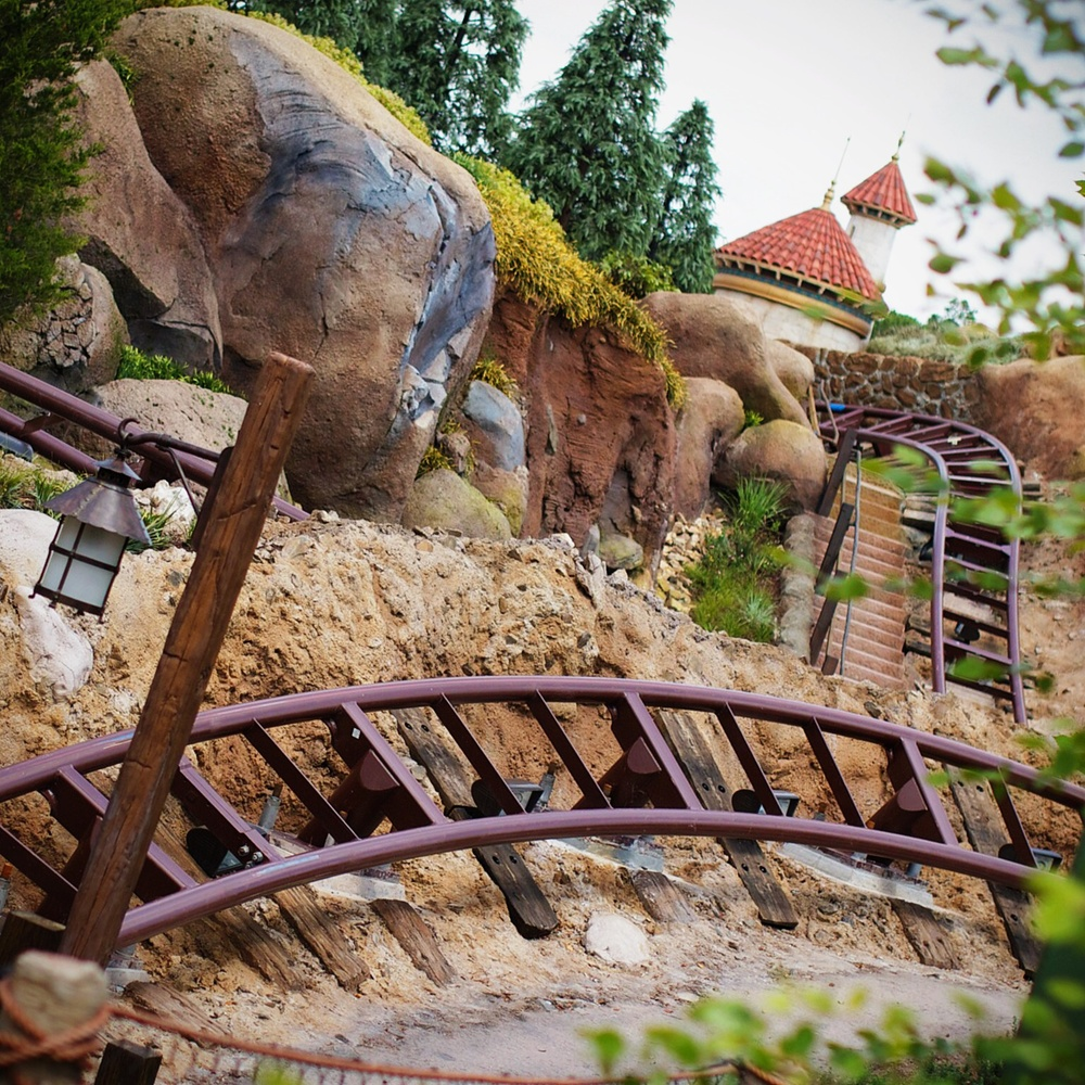 How could I forget about the Seven Dwarfs Mine Train? After seeing some preview testing in May, I'm even more excited to ride in November!