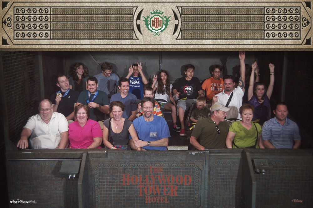 A good on-ride photo is well worth the purchase. Me, with medal, middle row, far left.