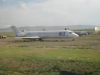 Sky Georgia aircraft