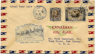 Canadian air mail stamps