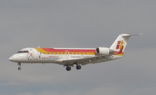 Air Nostrum operates many regional routes within Spain on behalf of Iberia