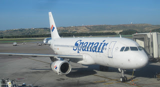 The old livery, here a Spanair Airbus at Madrid-Barajas