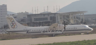 Olympic Airways aircraft no longer in use
