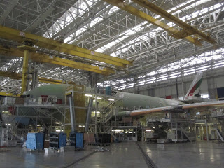 An A380 being readied for Emirates