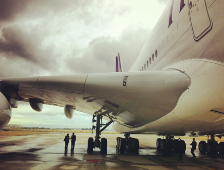 Thai Airways A380 delivery ceremony in Toulouse