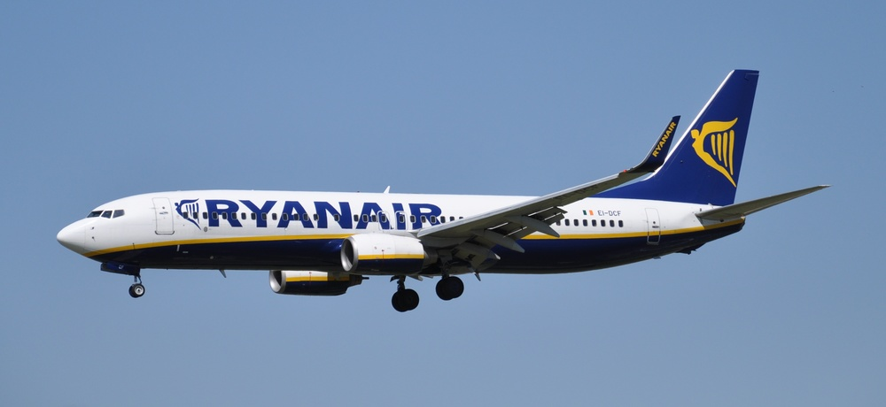 No doubts about Ryanair being a low cost airline. Picture: Pau Cuevas & Esther López