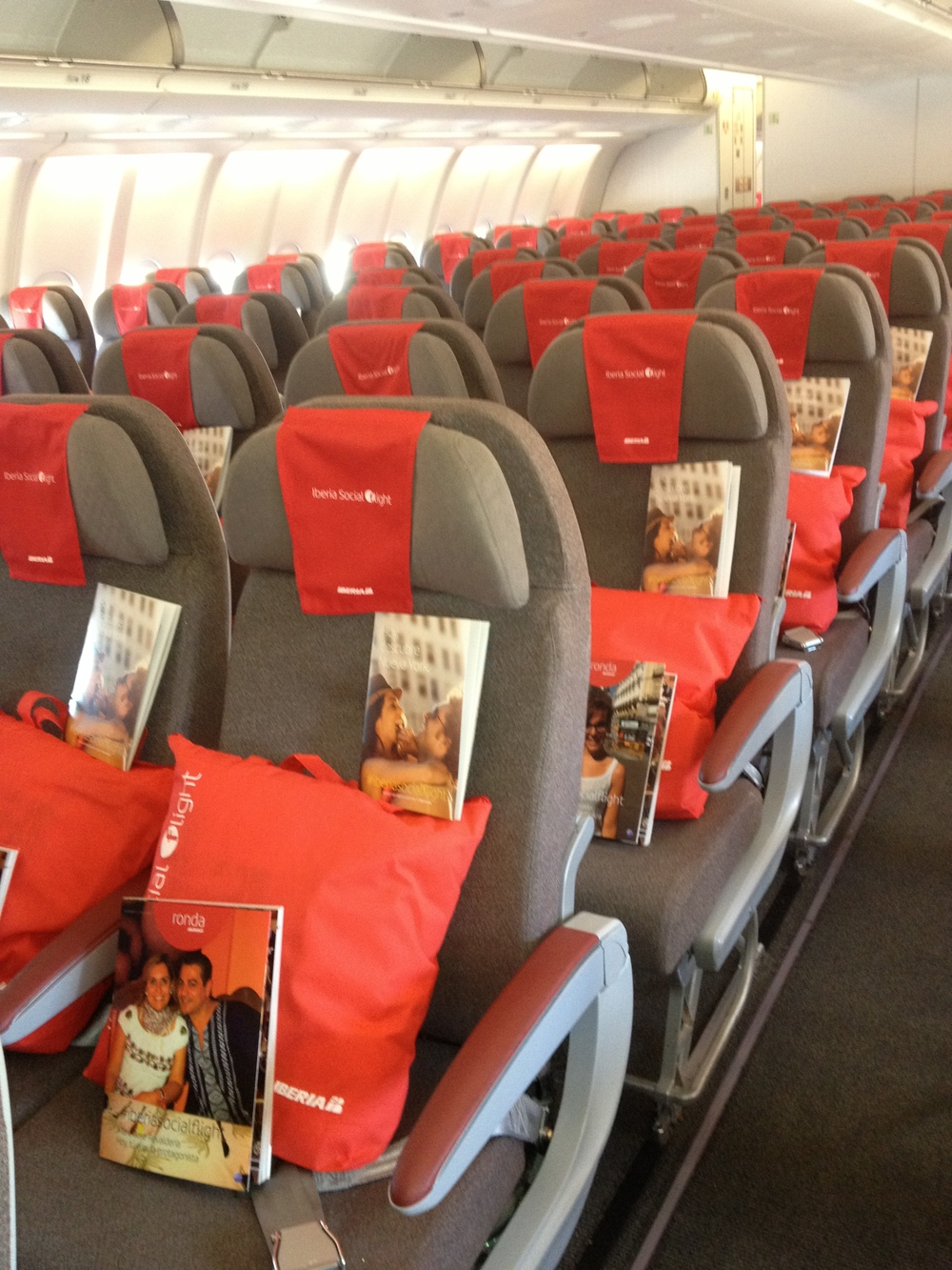 Who do you want to seat with? Picture: Iberia