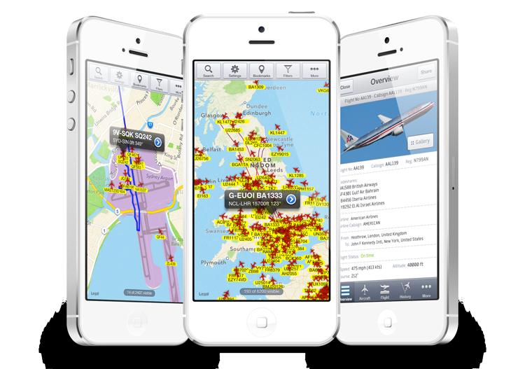 Flight-tracking: not only for avgeeks