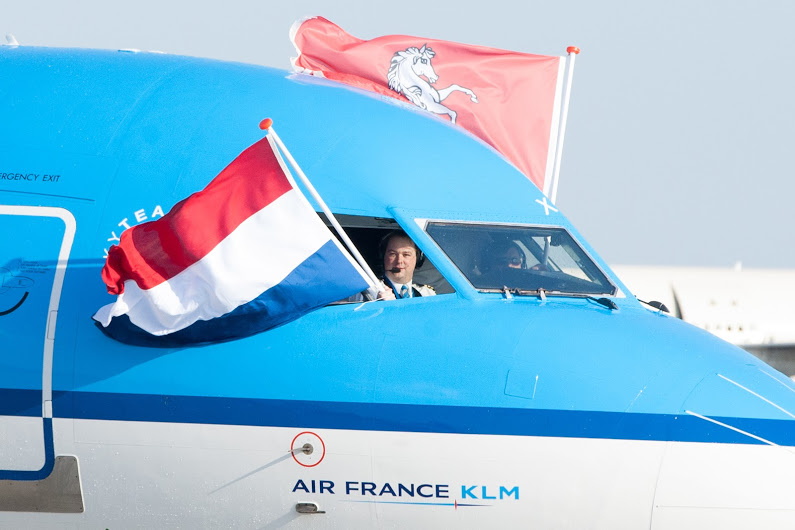 A true flag carrier. Picture: KLM