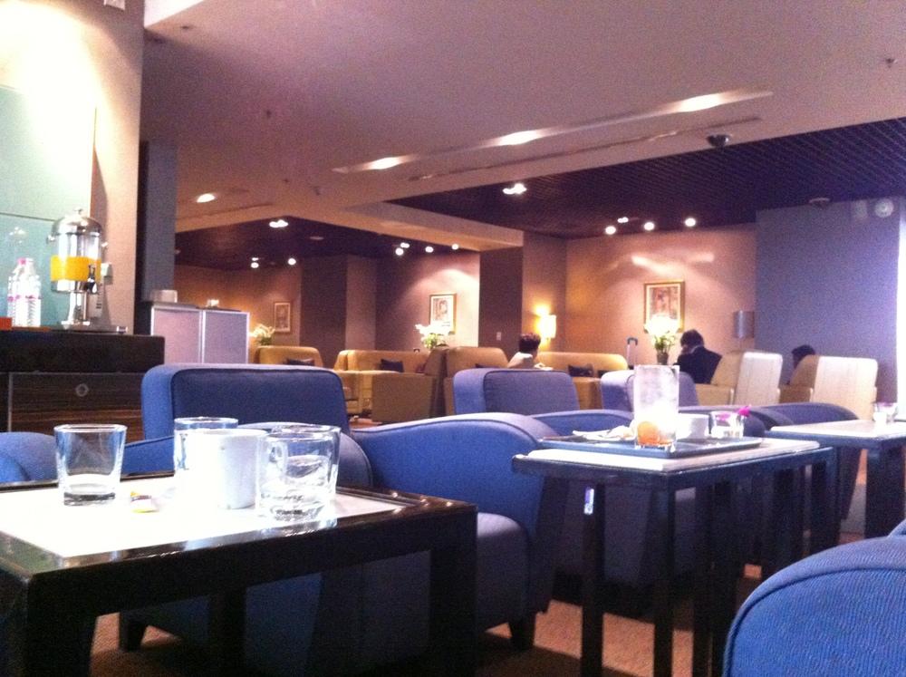 Thai Airways' Royal Silk Lounge