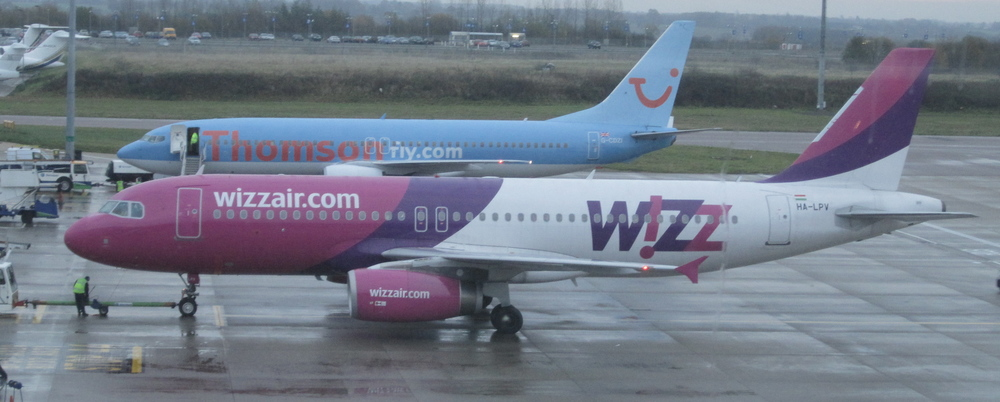 WizzAir has gone inter-continental with its A320s, location helps