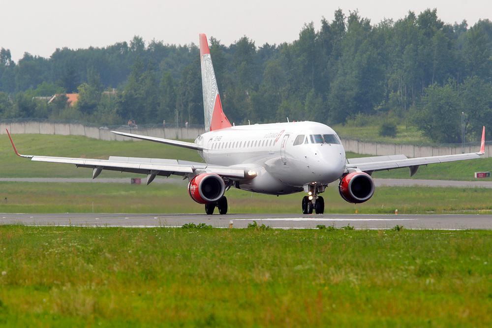 One of Air Lituanica's Embraer E175s. Picture: Air Lituanica