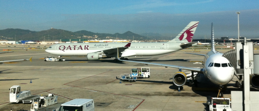 Qatar Airways is one of the airlines said to be in talks to open new routes out of Barcelona