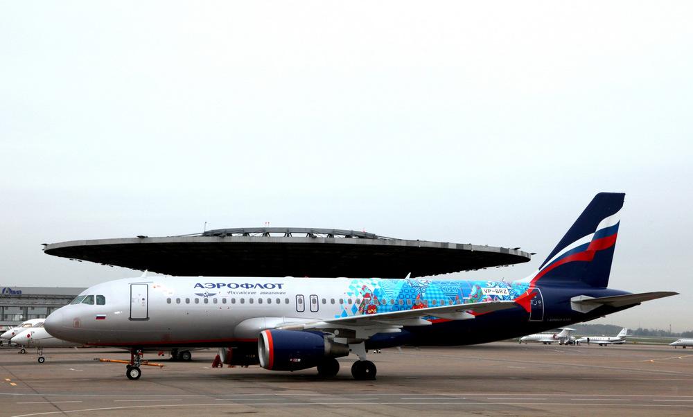 Aeroflot's Sochi Winter Olympics Airbus