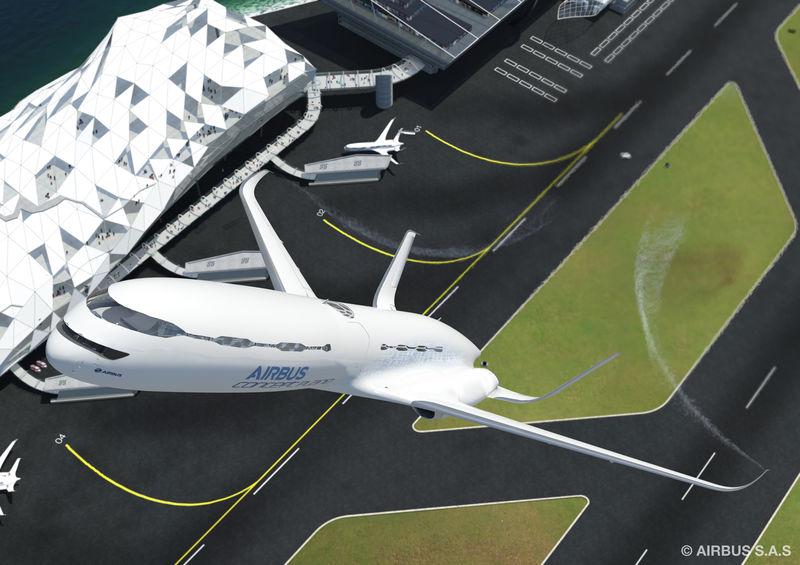 Airbus' vision of the future. Picture: Airbus