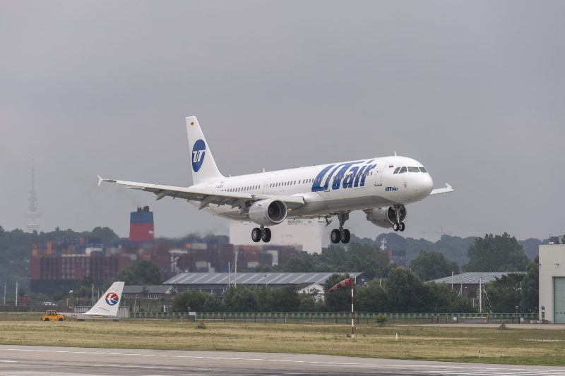 UTair, an airline that has been busy expanding and renovating its fleet was third with 8,182,074 passengers (+5.3%). Picture: UTair