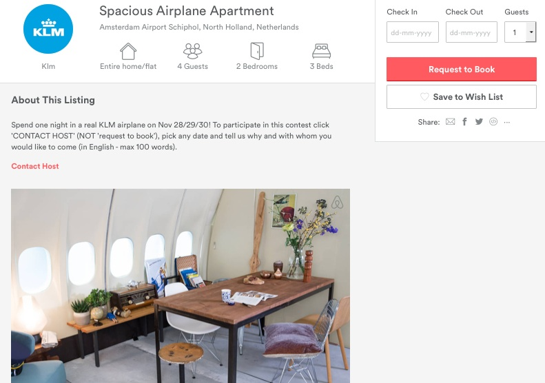 KLM apartment md11 airbnb