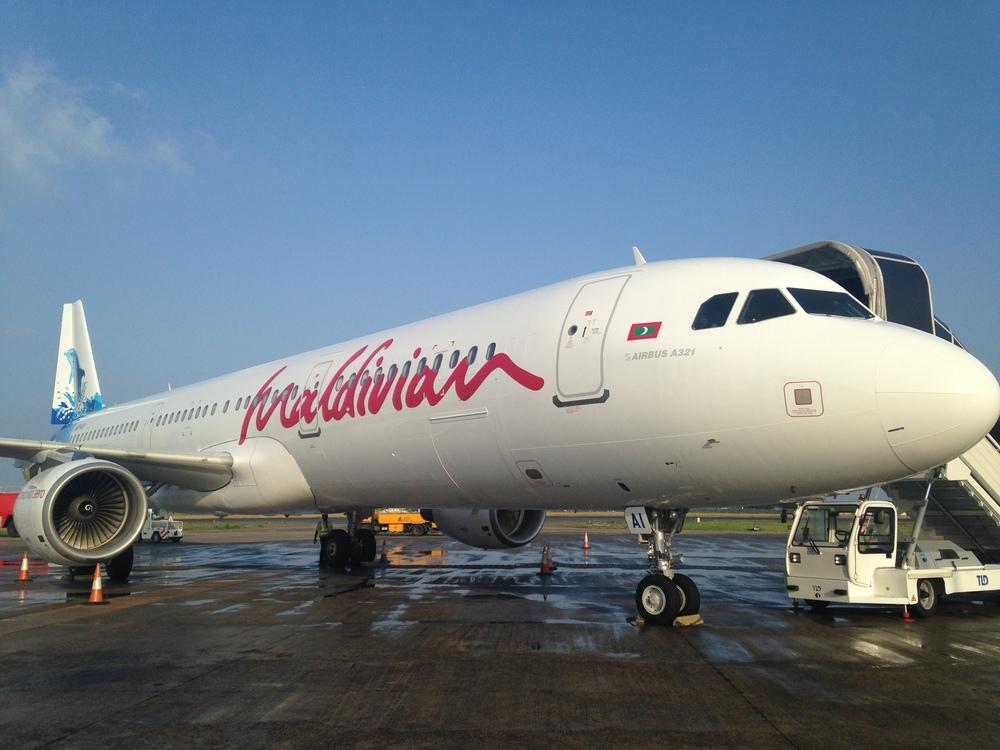 Maldivian A321