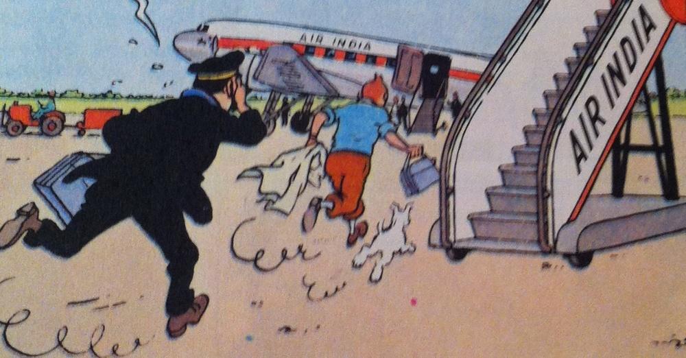 Tintin Air India