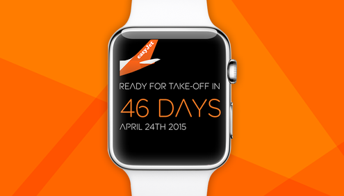 Easyjet AppleWatch