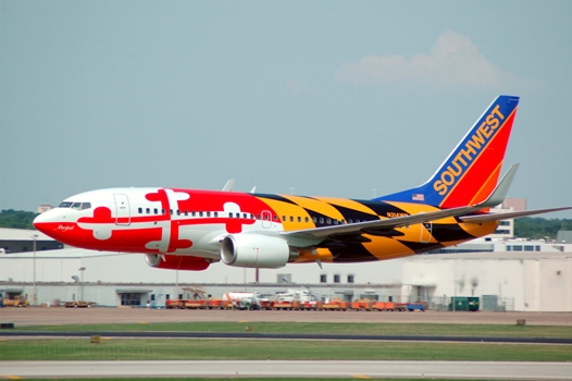 Maryland One ( N214WN), 2005. Picture: Southwest Airlines