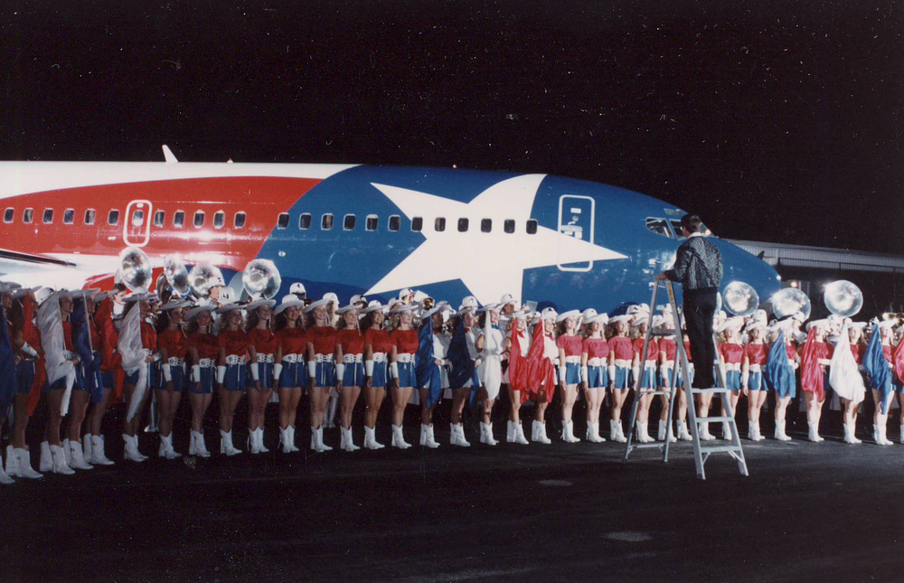 Lone Star Texas (N352SW), 1990. Picture: Southwest Airlines