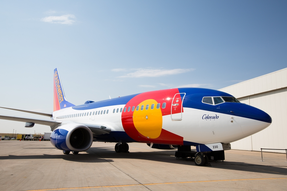 Colorado One ( N230WN), 2012. Pciture: Southwest Airlines