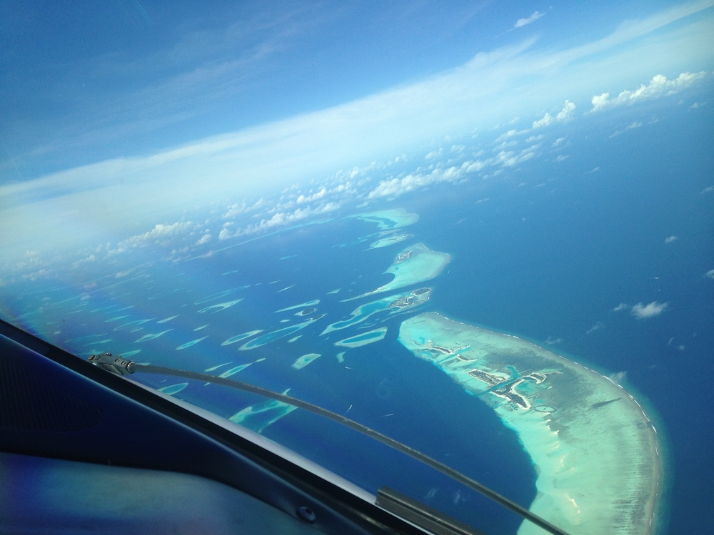 The country is made of 1,190 islands, grouped in different atolls that are located north and south of the equator line