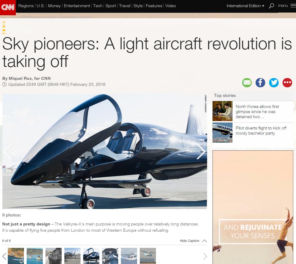 designer light aircraft