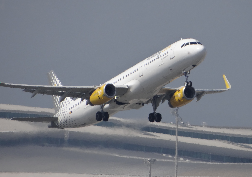 This being Barcelona, we saw, of course, lots of Vueling aircraft