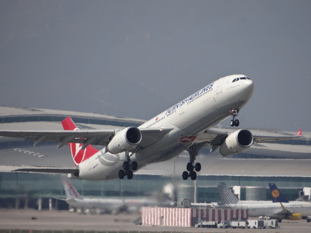 Barcelona has become an important destination for Turkish Airlines, that flies some of its frequencies with wide-body aircraft, such as this Airbus A330nAA
