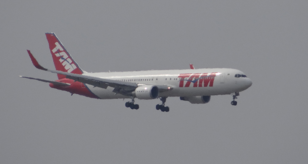 Straight from Sao Paulo, TAM's Boeing 767
