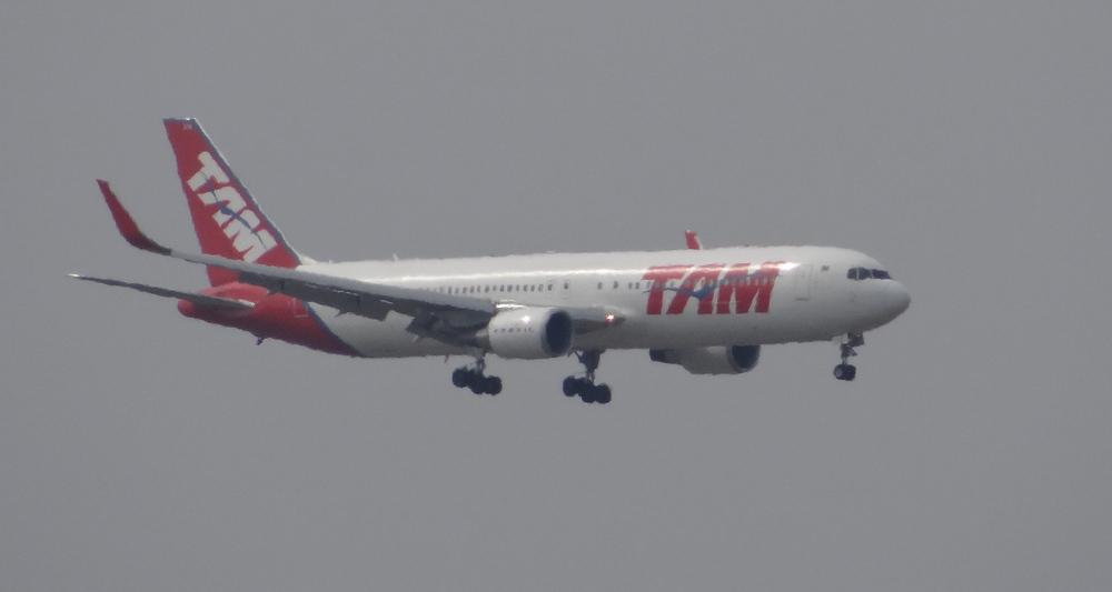 Straight from Sao Paulo, TAM's Boeing 767