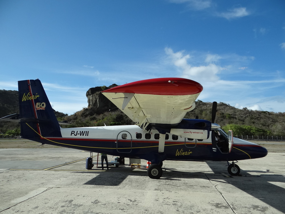 Winair airline Caribbean