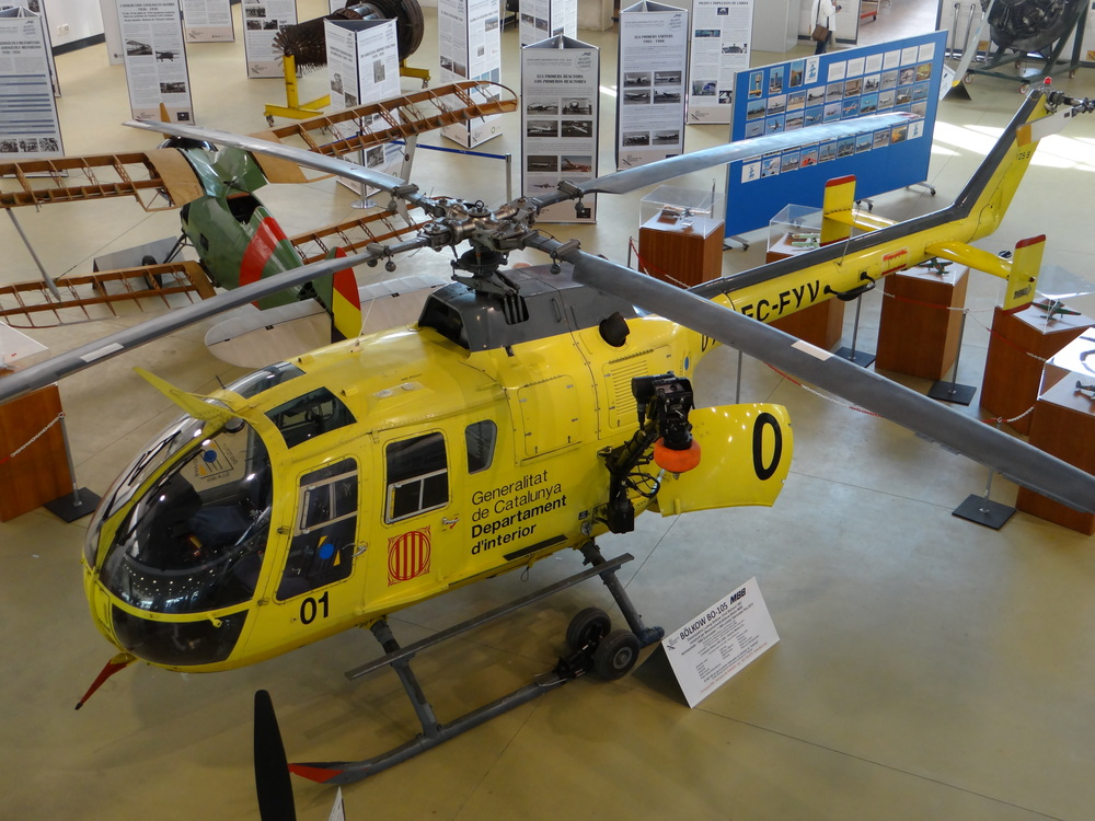 This MBB Bo-105 was used many years by the government of Catalonia