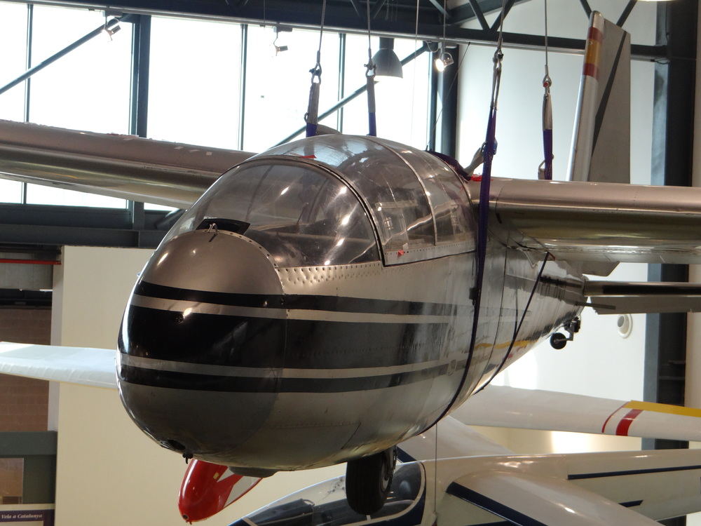 Glider close-up