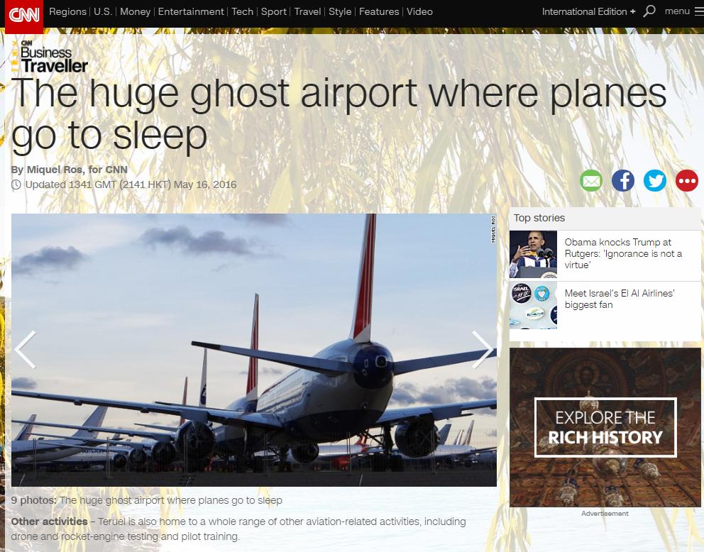 Aeropuerto Teruel CNN