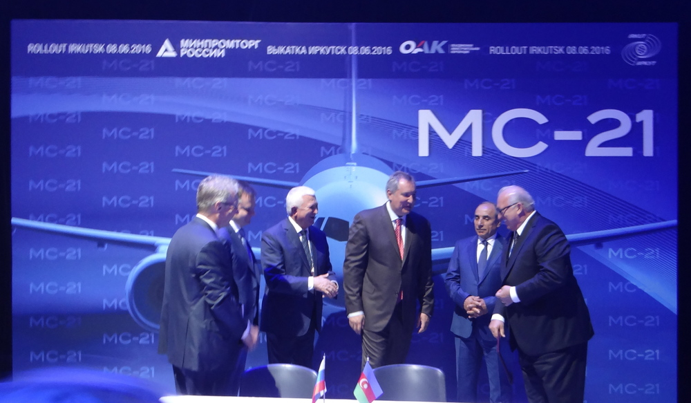 Azerbaijan Airlines orders 10 MC-21 aircraft