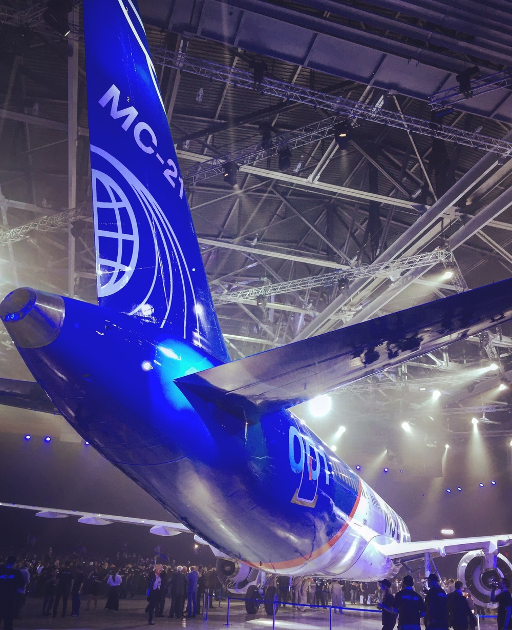 More MC-21 goodness - this one from another angle