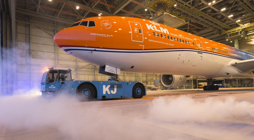 Picture: Menno Mennes, via  KLM