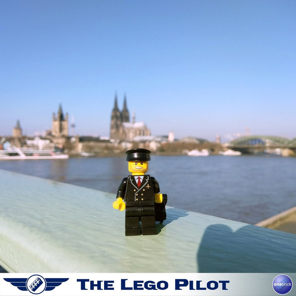 Cologne is one of the favourite cities of The Lego Pilot