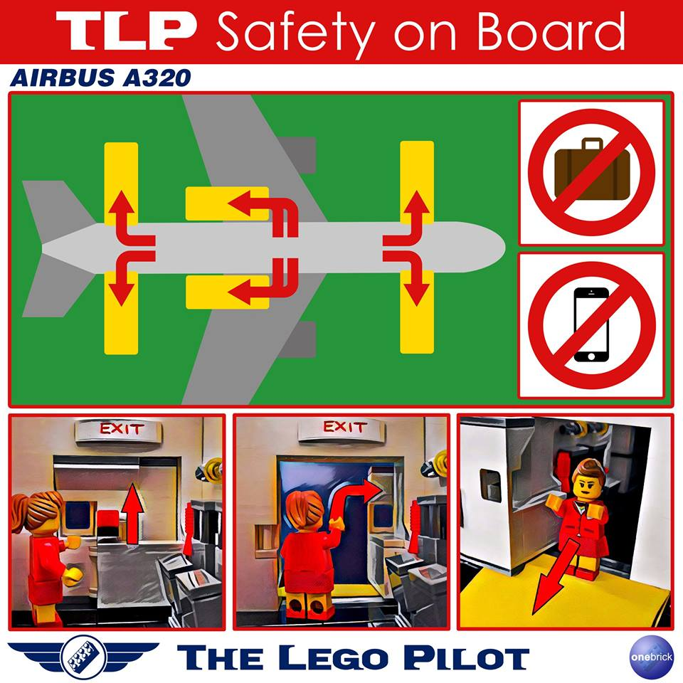The Lego Pilot also puts safety first!