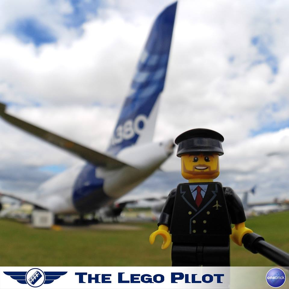 The Lego Pilot also follows what's going on in the airline industry, including its mains events