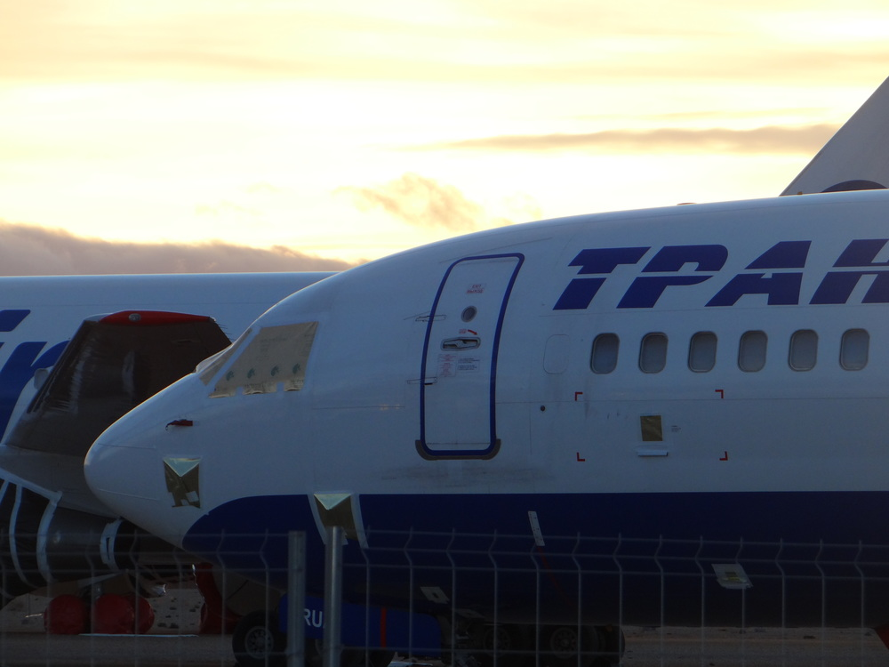 Transaero old aircraft
