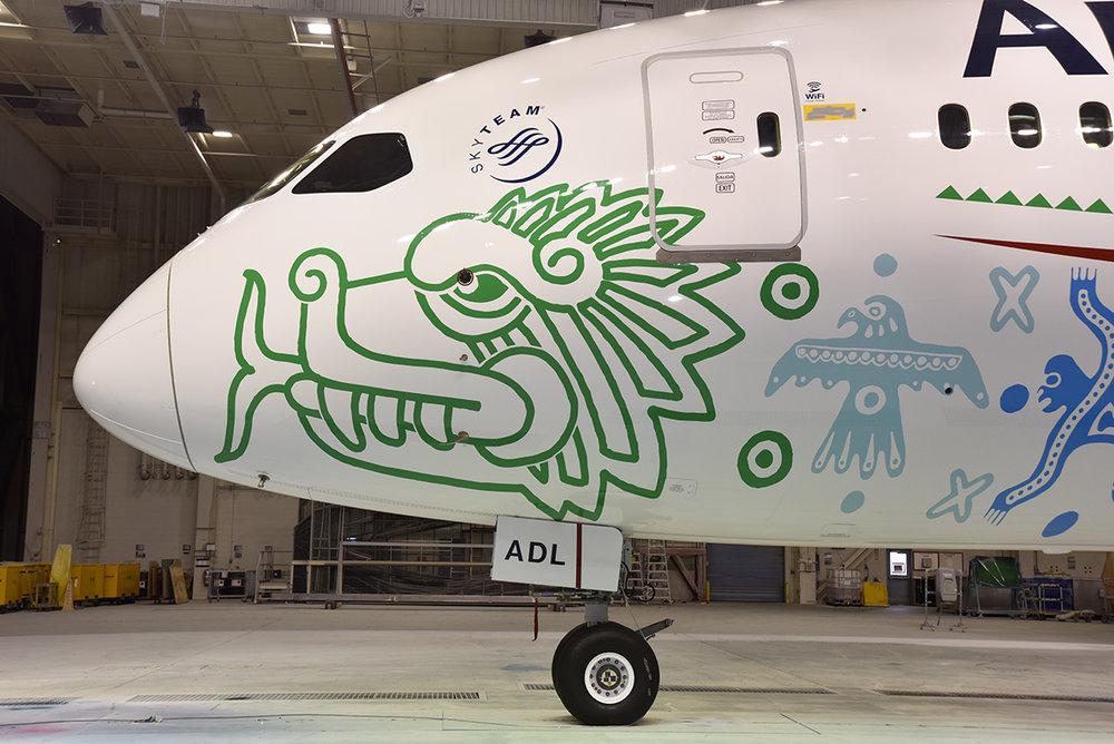 Aeromexico Quetzalcóatl livery