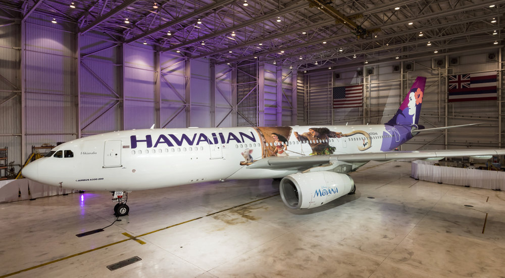 Hawaiian Moana aircraft