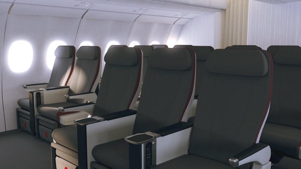 Iberia premium economy seats
