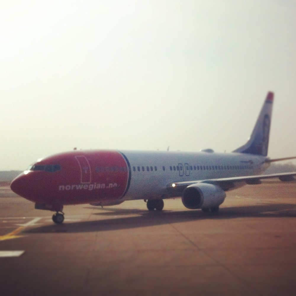 Norwegian B737 to Argentina