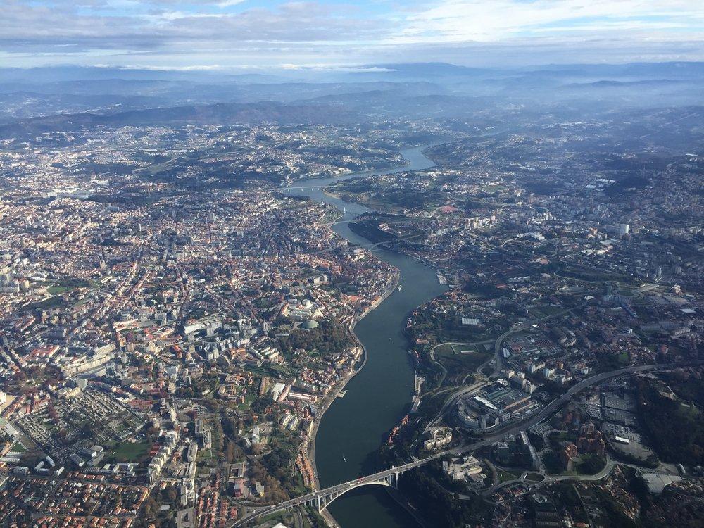 A view of Porto